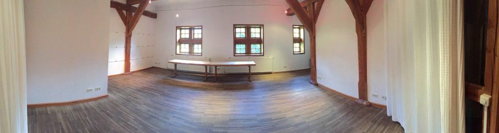 Schwingbodenraum (sprung floor room) at Stable